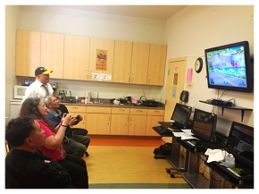 Wii Tournament Between SF Senior Centers