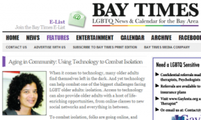 SF Connected featured on San Francisco Bay Times