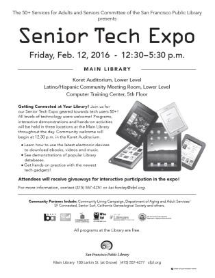 2016 Senior Tech Expo