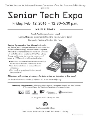 2016 Senior Tech Expo
